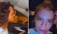 Luísa Sonza passeia de carro novo com Vitão