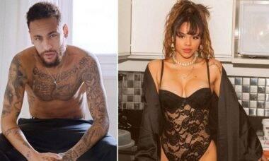 Novo casal? Neymar e a cantora Gabily voltam juntos ao Brasil