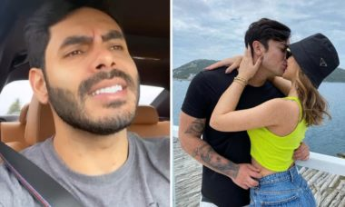 "Rodolffo canta ""sofrência"" após início de namoro de Rafa Kalimann"
