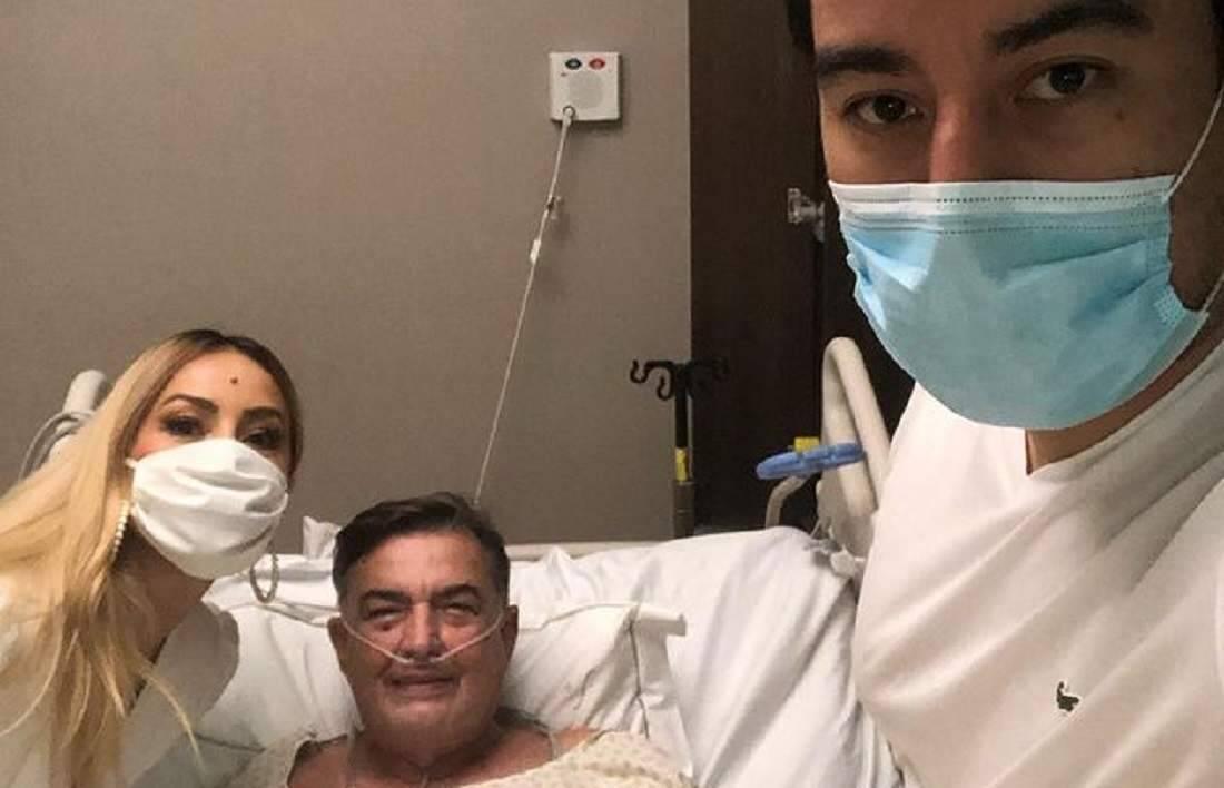 Sabrina Sato fala sobre estado de saúde do pai internado com Covid-19 há 11 dias