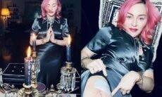 Madonna posta fotos misteriosas e seguidores a acusam de bruxaria