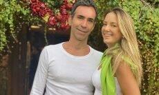 """Ticiane Pinheiro se declara para Cesar Tralli: """"Namorando meu eterno namorado"""""""