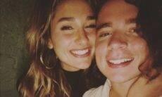 Sasha comemora um ano de namoro com João Figueiredo