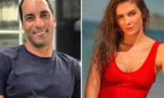 Edmundo, ex-jogador da seleção, estaria namorando advogada 20 anos mais jovem