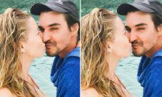 Danielle Winits afirma que ela e André Gonçalves usam máscaras em casa