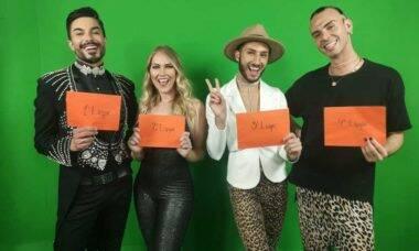Os quatro vencedores. Foto: Divulgação
