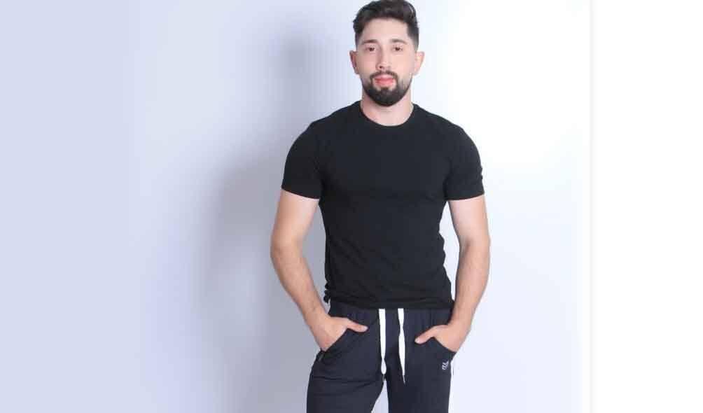 Influenciador, modelo e personal trainer dos famosos, Rafael Topolosky faz sucesso nas redes sociais. Foto: Divulgação
