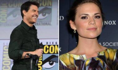 Novo casal? Tom Cruise estaria namorando atriz da Marvel, Hayley Atwell