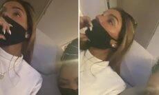 Ludmilla compartilha vídeo de Brunna Gonçalves com ciúmes