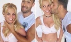 """Britney Spears comemora aniversário ao lado do namorado: """"Minha leoa"""""""