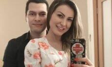 """Andressa Urach revela que já mora com o noivo: """"Nossa casa"""""""