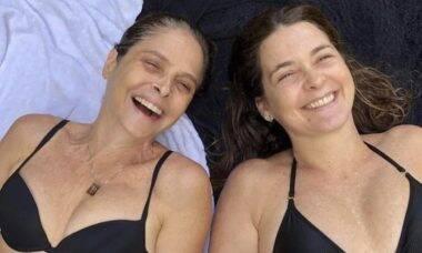 """Drica Moraes comenta sobre quarentena com Claudia Abreu: """"Fomos muito felizes"""""""