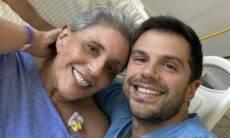 """Duda Nagle fala sobre sintomas da Covid-19 de Leda Nagle: """"Foram graves"""""""
