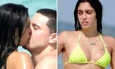 Filha de Madonna, Lourdes Maria troca beijos com o namorado na praia