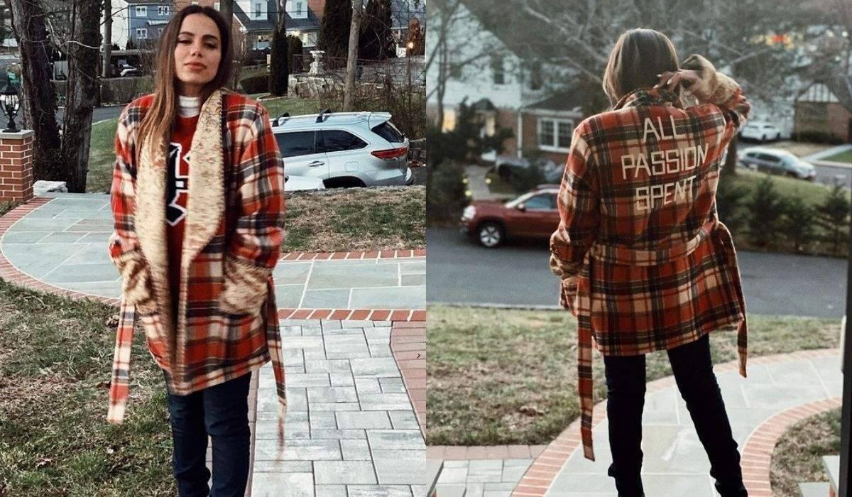 Anitta posa no frio de Nova York com casaco avaliado em mais de R$ 22 mil
