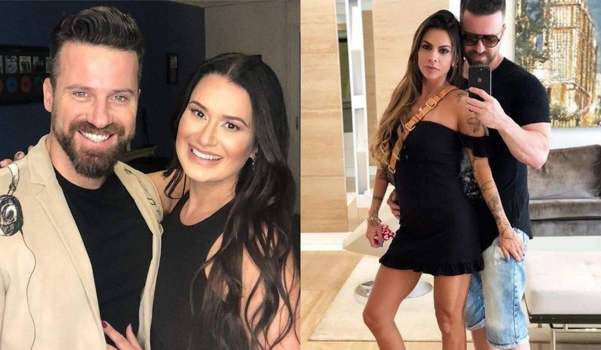 Atual de Marlon, ex melhor amiga da antiga esposa do cantor, anuncia que está grávida