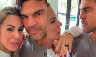 Joana Prado diverte os fãs ao comemorar 17 anos de casamento com Victor Belfort