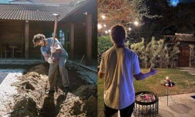 Após intensa reforma José Loreto mostra resultado da obra em sua casa