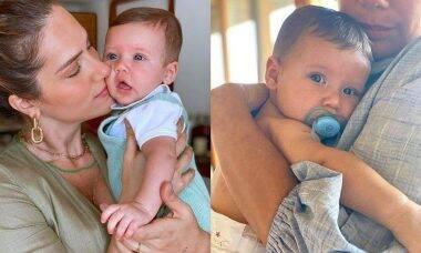 """Giovanna Ewbank se encanta com clique de Zyan com sua mãe: """"colinho de vovó"""""""