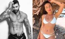 """Gusttavo Lima nega affair com Camila Landim e a acusa: """"até quando vai sustentar essa Fake News"""""""