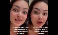 Filha de Kelly Key, Suzanna Freitas se irrita com perguntas de fãs sobre ausência de namorado. Foto: Reprodução Isntagram