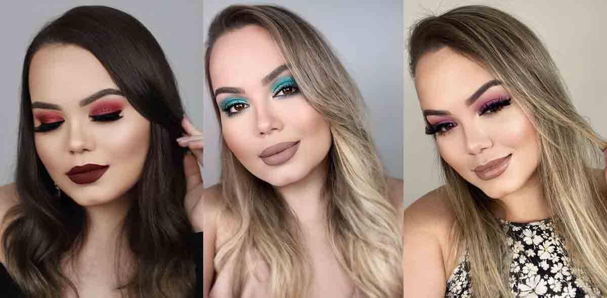 Beleza feminina: Gabriellen Araújo expõe o poder da maquiagem. Foto: Divulgação