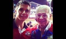 Pai de Márcio Garcia morre vítima de complicações de Covid-19. Foto: Reprodução Instagram