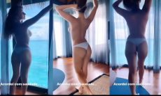Márcia Bonde enlouquece fãs com vídeo de topless, assista. Foto: Reprodução Instagram