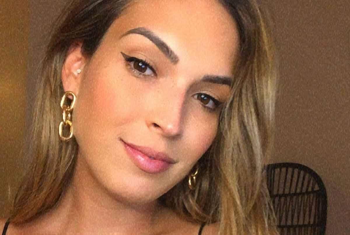 Talitha Morete estreia como apresentadora do É de Casa. Foto: Reprodução Instagram