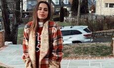 Anitta posa no frio de Nova York com casaco avaliado em mais de R$ 22 mil. (Foto: Reprodução/Instagram)