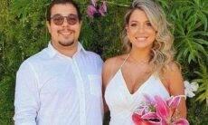 Filho de Zeca Pagodinho, Louiz Carlos se casa com Thays Souza em cerimônia íntima no Rio