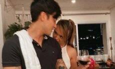 No maior clima! Rafa Kalimann e Daniel Caon curtem de jantar romântico em casa