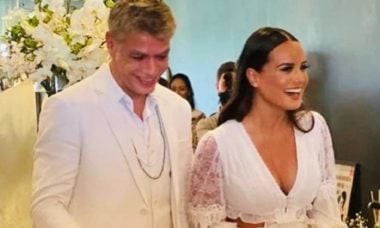 """Fabio Assunção revela que será pai novamente com Ana Verena: """"estamos grávidos"""""""