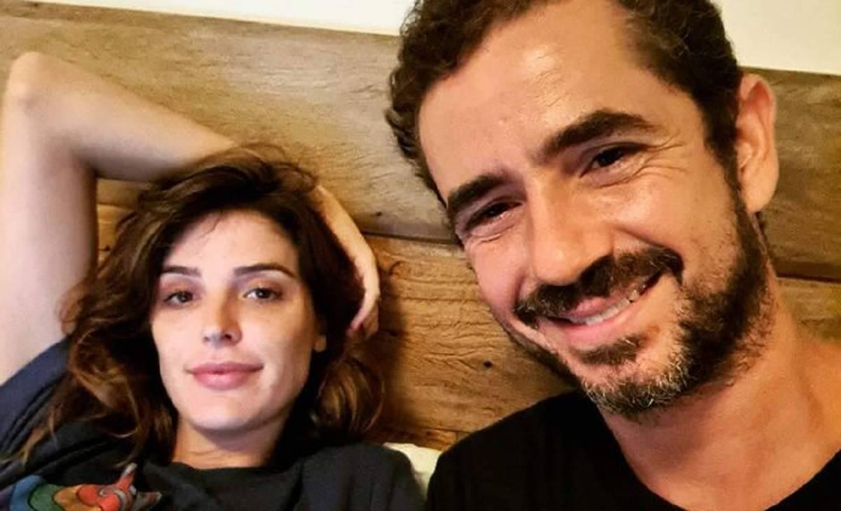 """Felipe Andreoli agradece o relacionamento com Rafa Brites: """"obrigado por fazer sorrir até em 2020"""""""