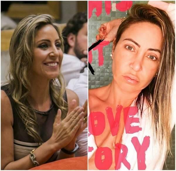 Francieli foi a primeira eliminada do 'BBB15' — Foto: Globo/Reprodução Instagram