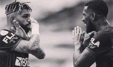 """Gabigol presta apoio à Gerson após ofensas racistas em campo: """"lutaremos juntos"""""""