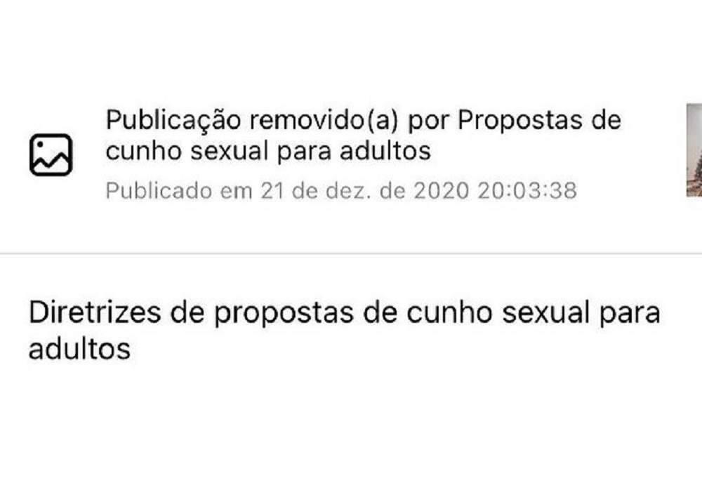 """Geisy Arruda protesta por fotos censuradas: """"recalcadas parem de denunciar minhas fotos"""". (Foto: Reprodução/Instagram)"""