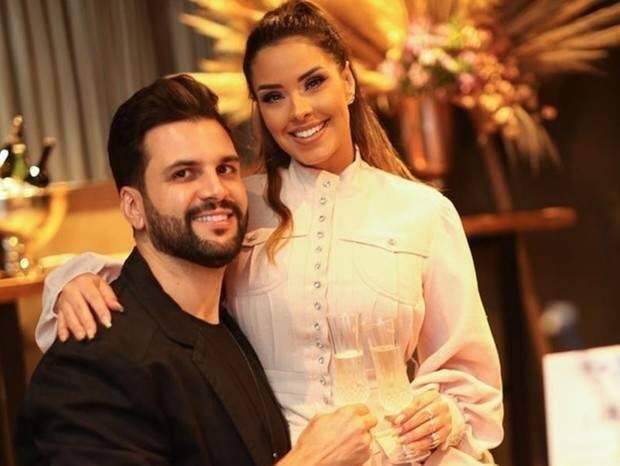Ivy Moraes e Rogério Fernandes