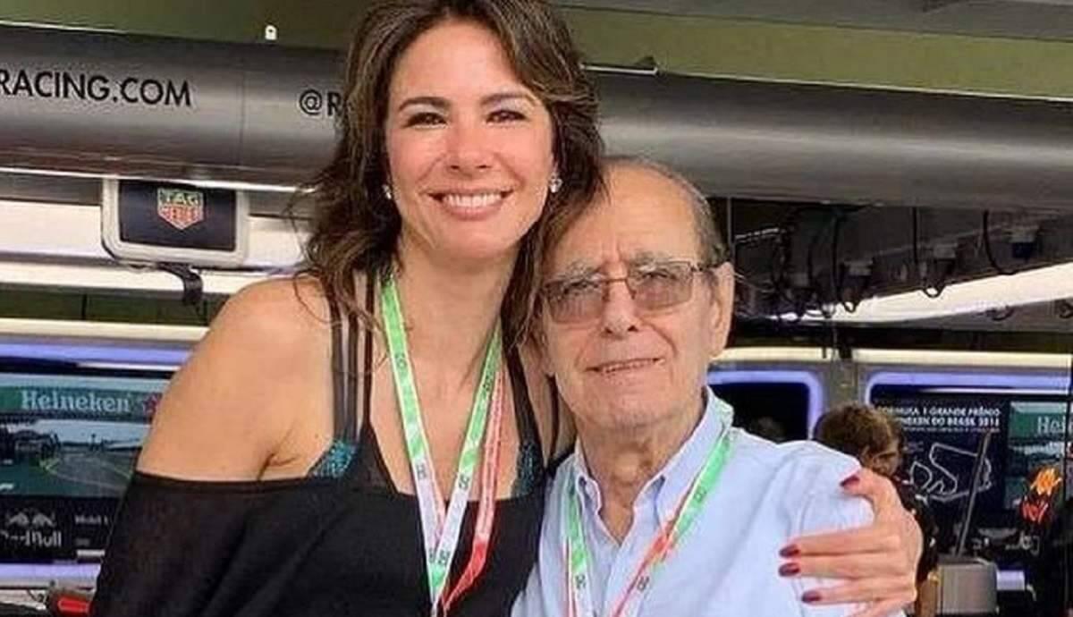 """Em luto, Luciana Gimenez encontra carta do pai e faz homenagem: """"obrigada, seu João"""""""