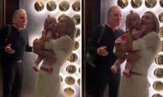 """Ana Paula Siebert se emociona ao rever a filha: """"Alegria de chegar em casa e ver a minha bebê!"""""""