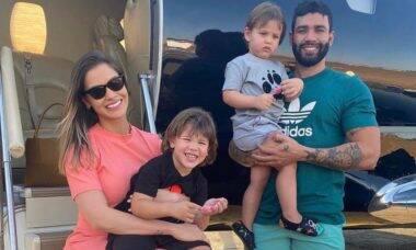 Dois meses após anúncio de separação, Gusttavo Lima e Andressa Suita assinam divórcio