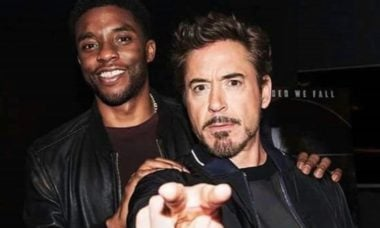 Chadwick Boseman é homenageado por Robert Downey Jr. e Don Cheadle no MTV Awards