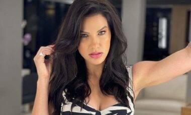 """Andressa Suita pinta novamente o cabelo e fãs não poupam elogios: """"deusa"""""""