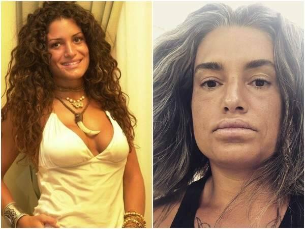 Tatiana foi a primeira eliminada do 'BBB4' — Foto: Globo/Reprodução Instagram