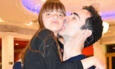 Cesar Tralli faz homenagem para enteada, Rafaella, filha de Roberto Justos e Ticiane Pinheiro