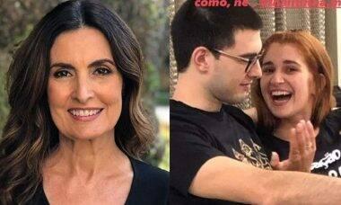 Fátima Bernardes celebra vinda do filho ao Brasil para passar o Natal com a família