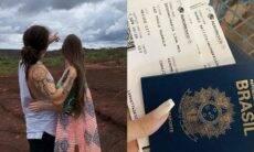 Whindersson Nunes e Maria Lina viajam ao México para o feriado de ano novo