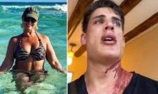 Após novo surto de Tiago Ramos, mãe do Neymar termina o namoro e o deixa sozinho em Cancún