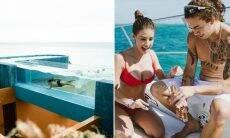 Whindersson Nunes e Maria Lina se divertem juntos no México