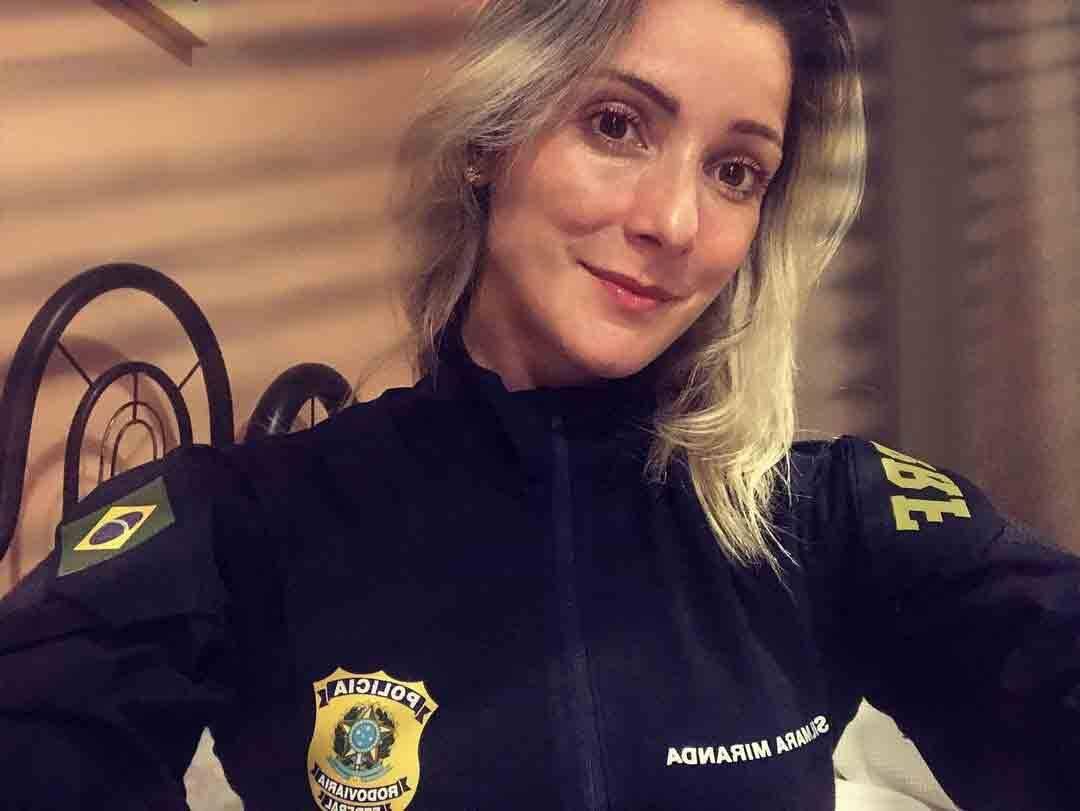 Silmara entrou para a policial rodoviária em novembro de 2020. Foto: Reprodução Instagram